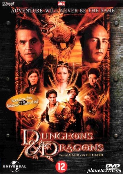 Подземелье драконов / Dungeons & Dragons (2000/HDRip/BDRip-AVC)