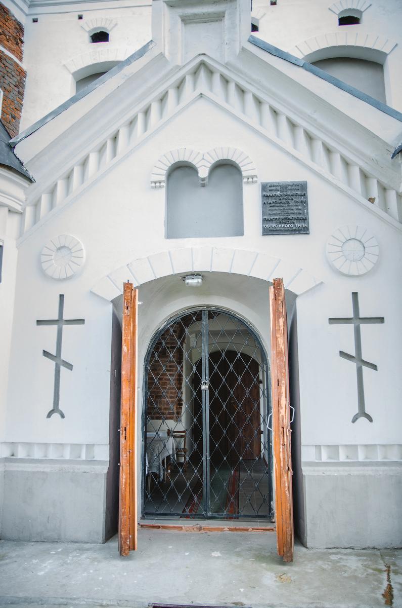 Церковь Мурованка, Маломожейковская церковь оборонительного типа