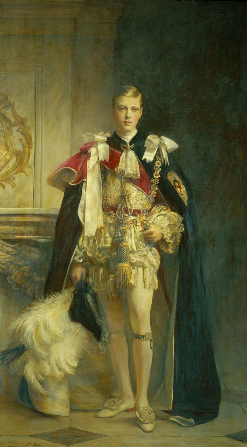 Sir Arthur Stockdale Cope (1857-1940)King Edward VIII (1894-1972), when Prince of Wales  Signed and dated 1912