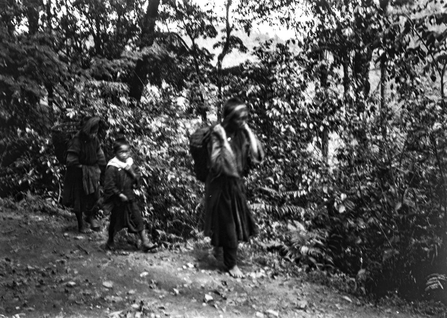 1102. Женщины народности лису в пути