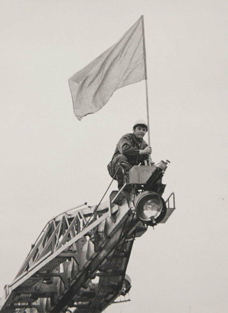 1940-е. Андрей Федоров. Знаменосец