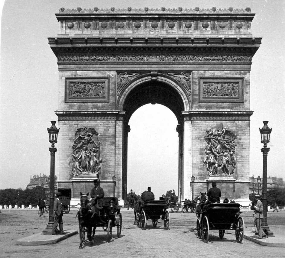1900-е. Триумфальная арка