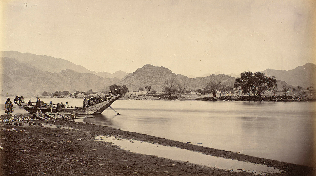 Река Кабул напротив Лалпура