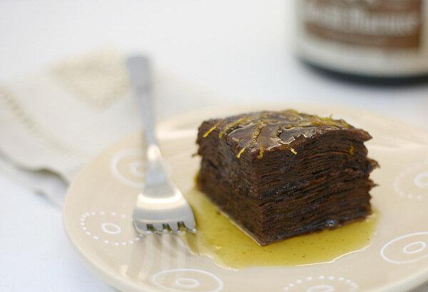 Шоколадный торт a la Suzette
