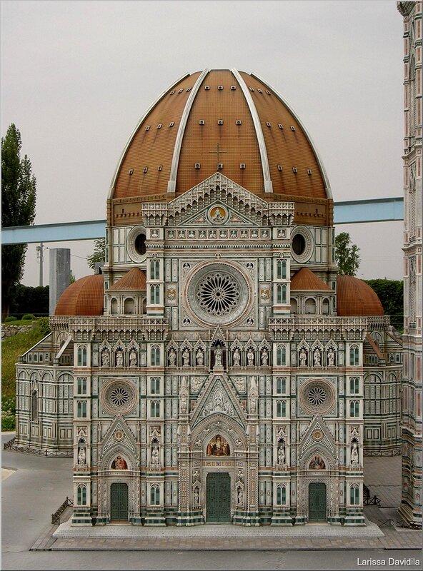 Italia in miniatura. Римни. Италия.