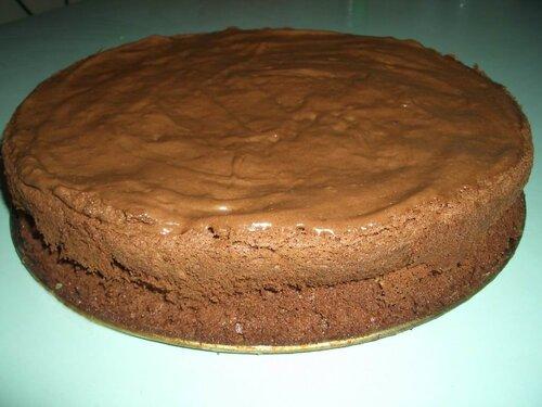 Супершоколадный торт без муки