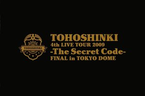 4th Live Tour 2009 ~ The Secret Code (Tokyo Dome)[DVD] 0_2e613_97c19c83_M
