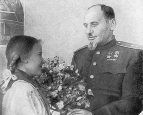 С.А. Ковпак в послевоенном Киеве