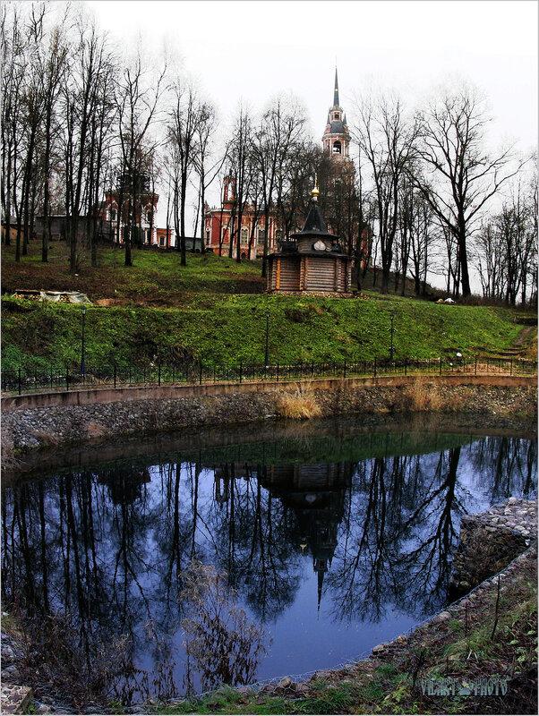 Кремль,Собор..Пруд...