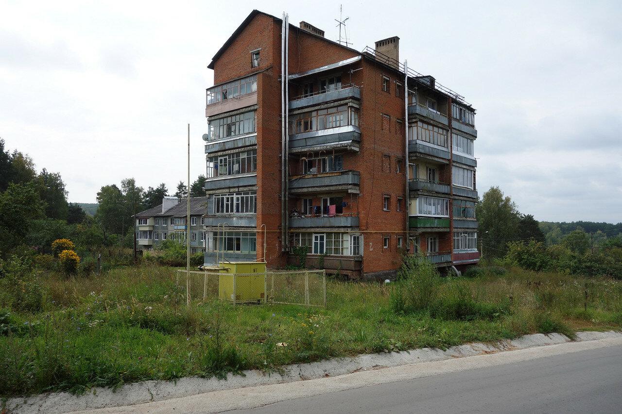 необычная пятиэтажка