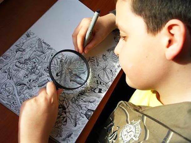 Les superbes illustrations d'un enfant prodige de 11 ans