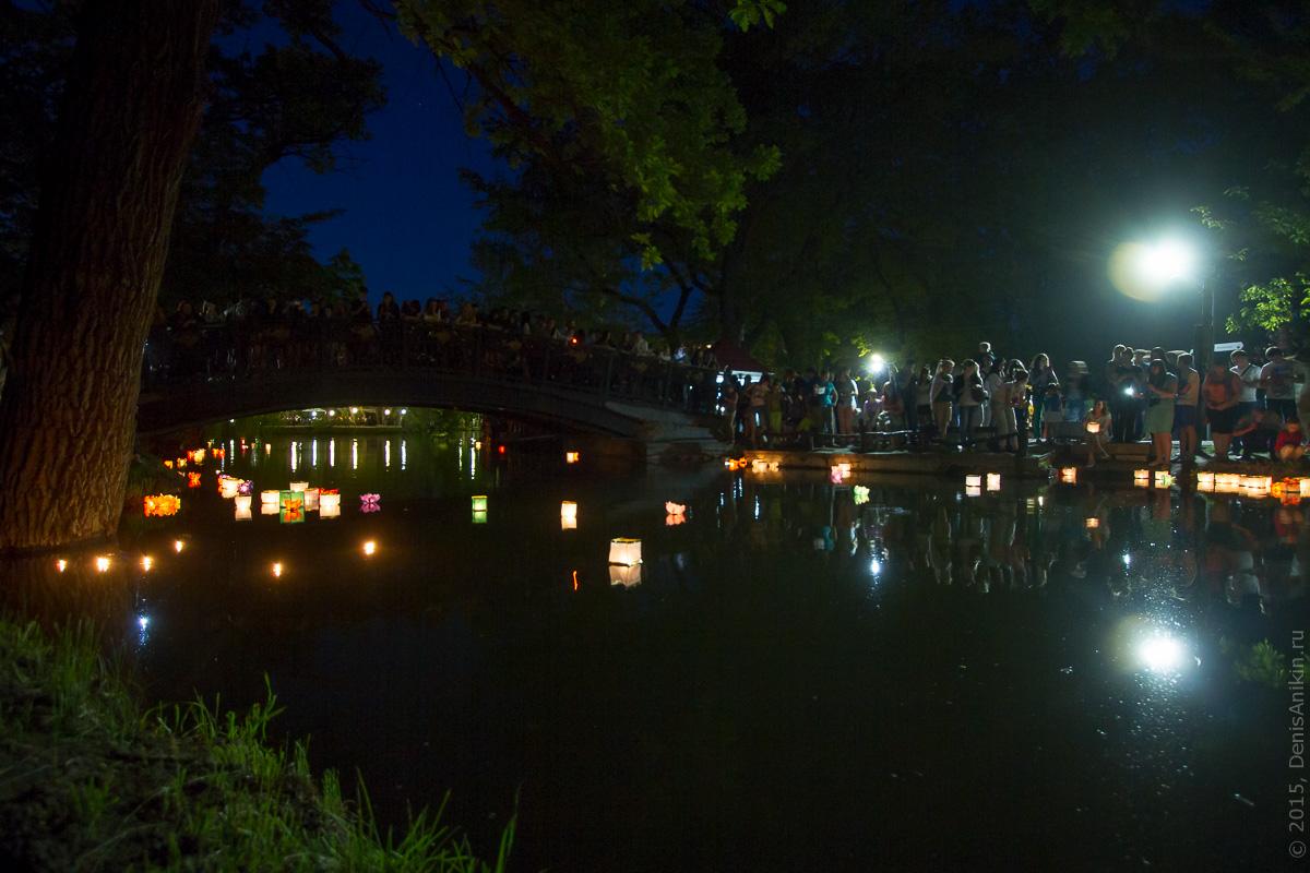 Фестиваль водных фонариков Саратов 6