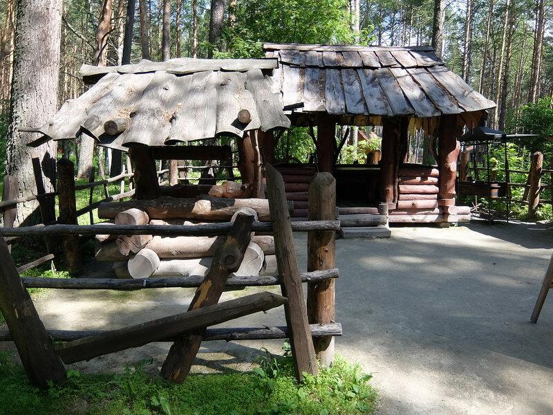 Томская писаница - Беседка