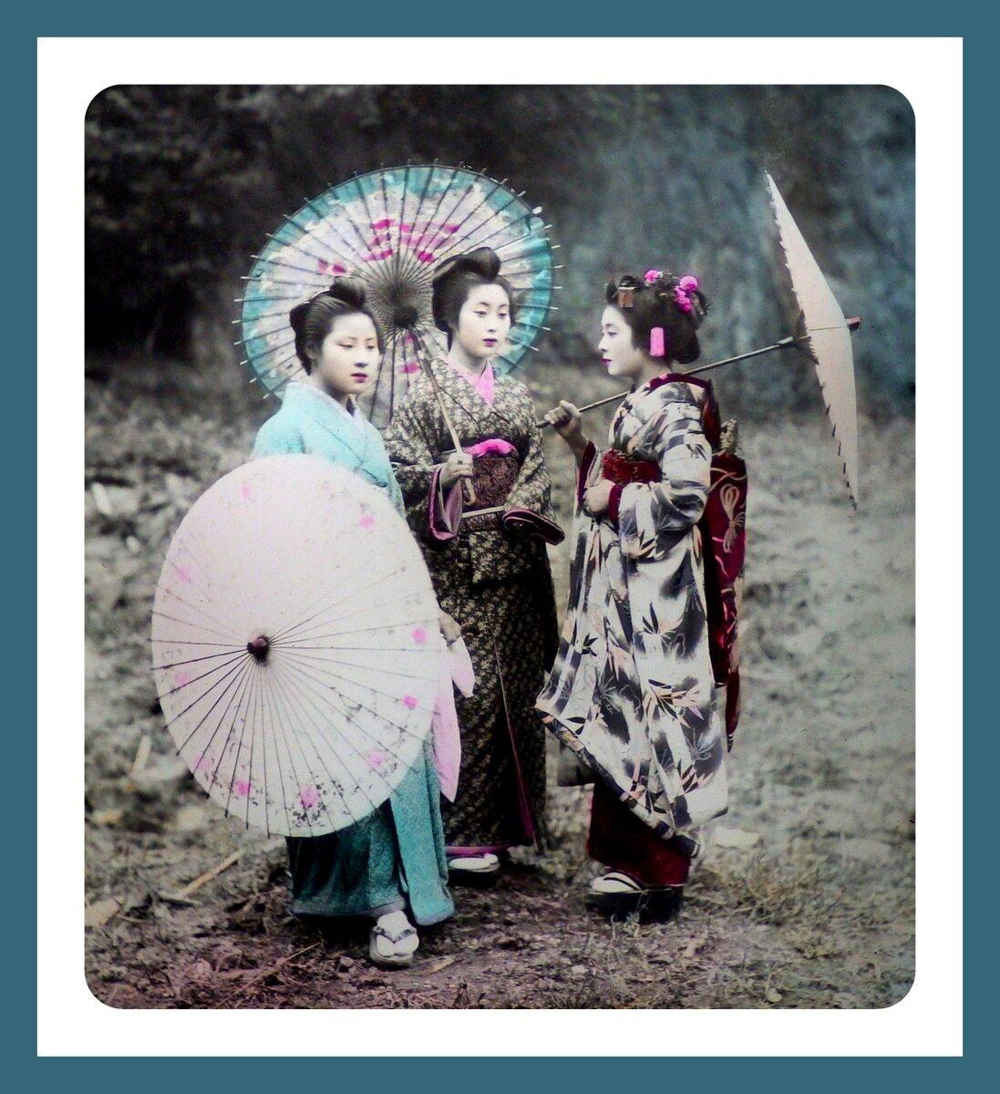 Две гейши и майко