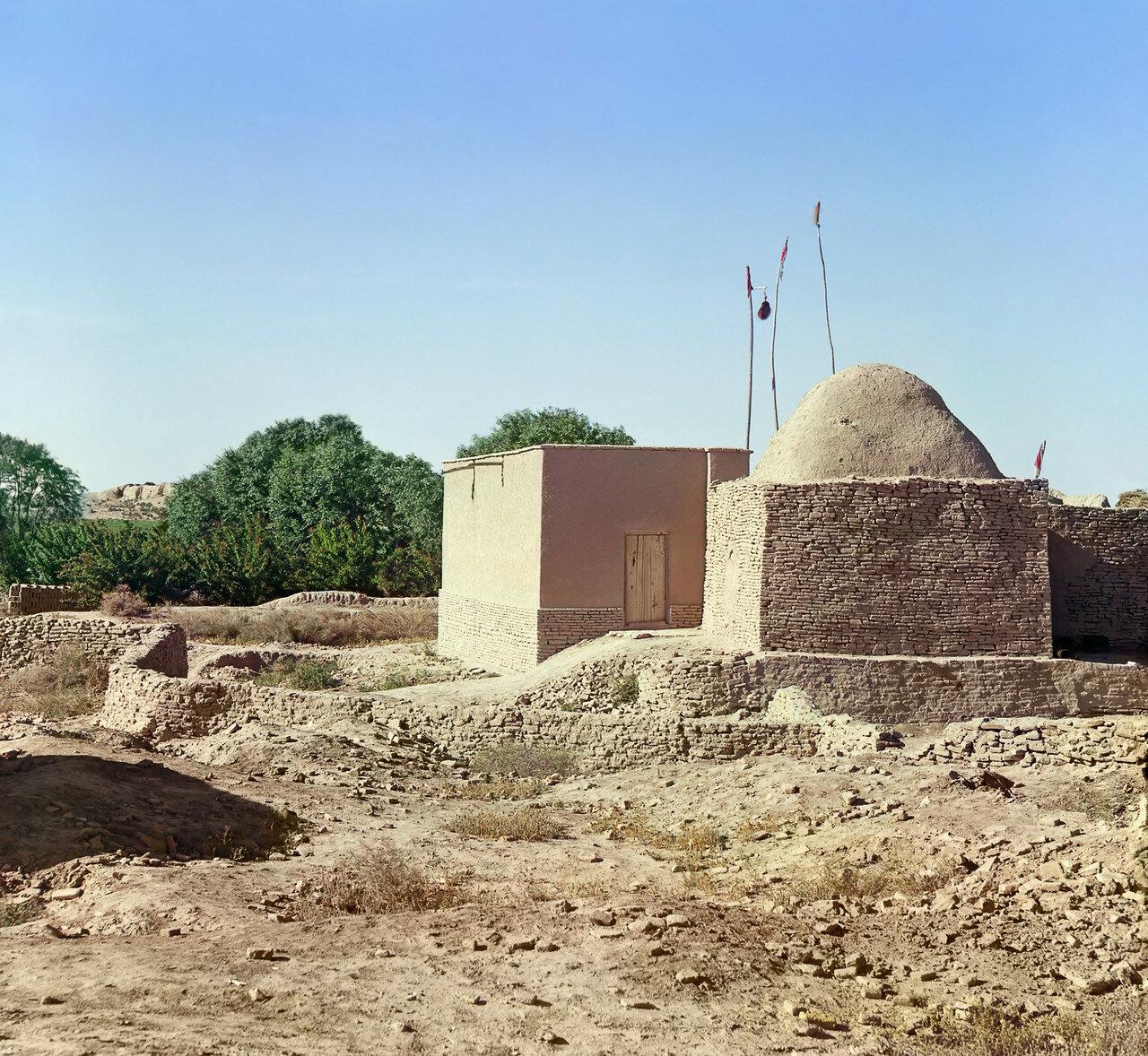 Древний Мерв. Мазар Ахмеда Замчи