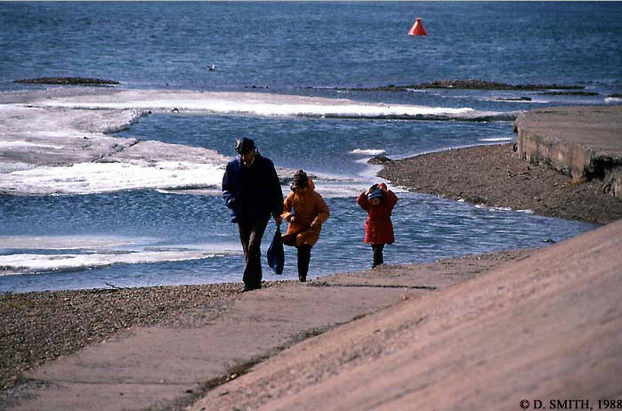 Прогулка вдоль берега Ангары