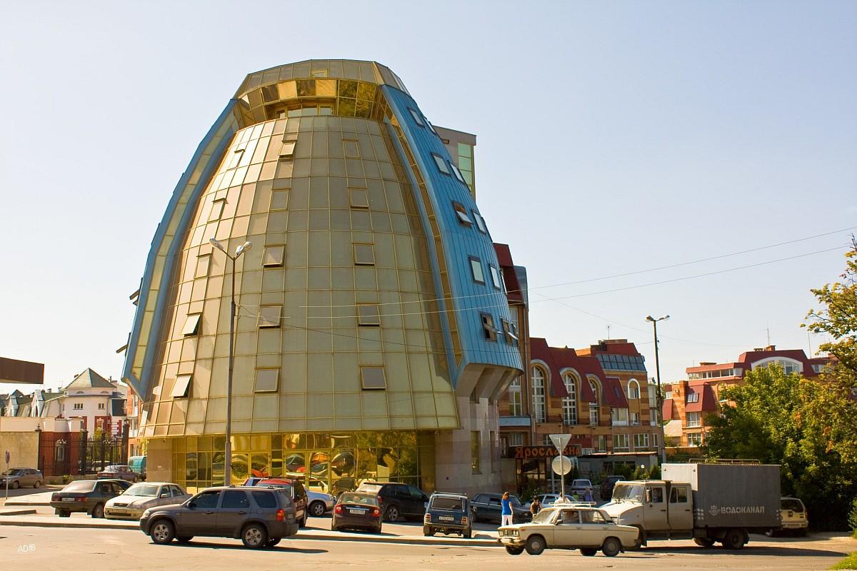 Бизнес-центр Кремлёвский, в простонародье Золотое яйцо