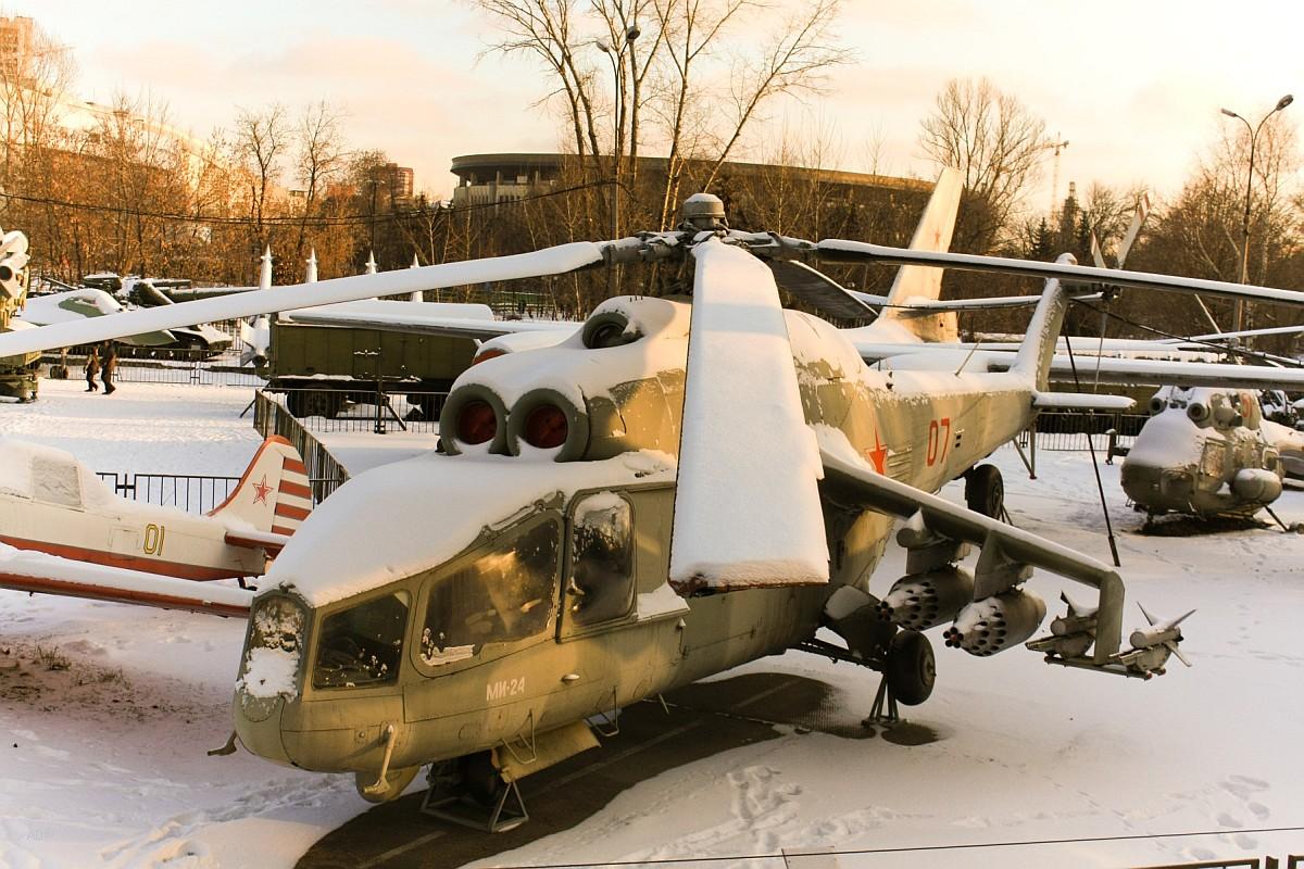 Вертолёт Ми-24А