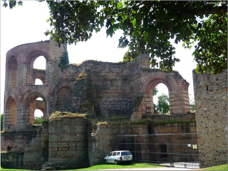 Римские термы.