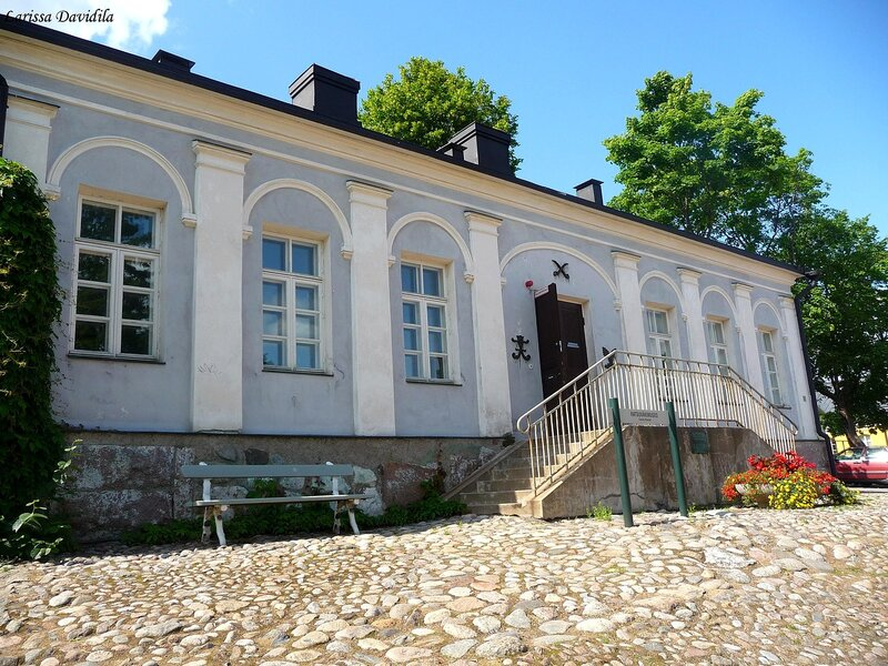 Lappeenranta. Территория крепости.