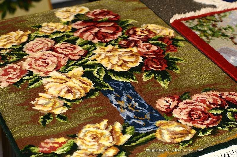 Ингушетия. Ворсовые ковры