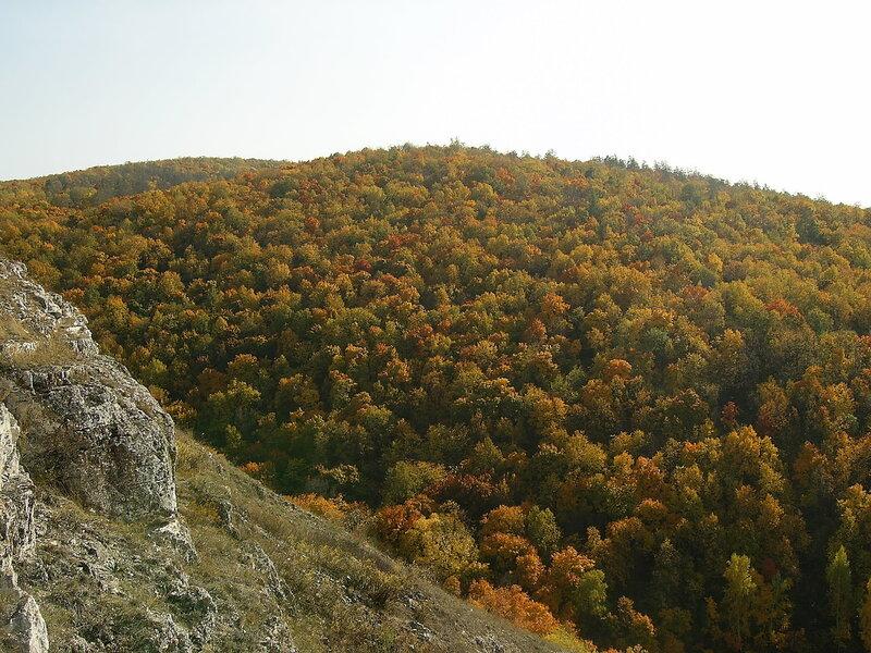 жигулевские горы осенью