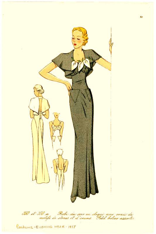 Мода 1935 года фото