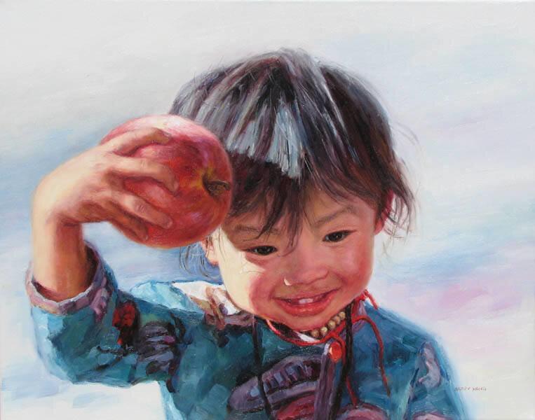Los niños chinos - Artista Barry Yang