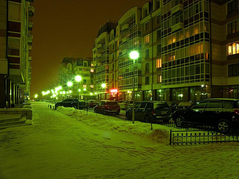 На улице Молокова