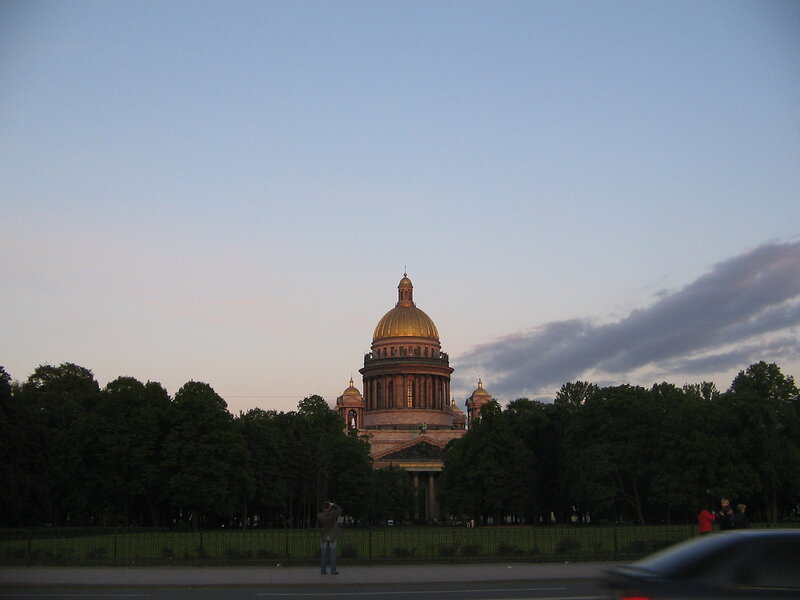 Sunset in St. Petersburg
