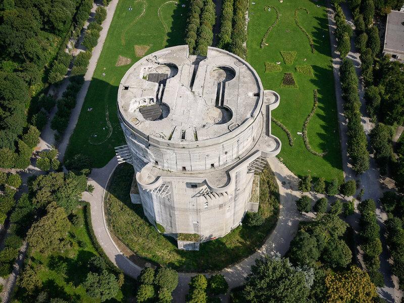 Вена,  Аугартен, башня G _1.jpg