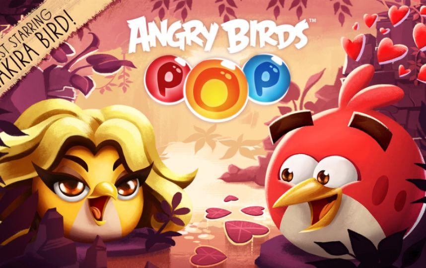 Шакира стала птичкой «Angry Birds»