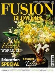 Журнал Fusion Flowers - August/September 2015