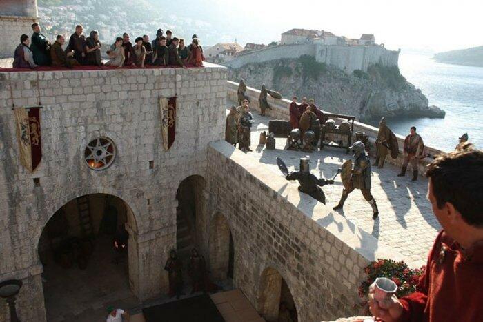 Крепость Ловриенац - Красный замок.