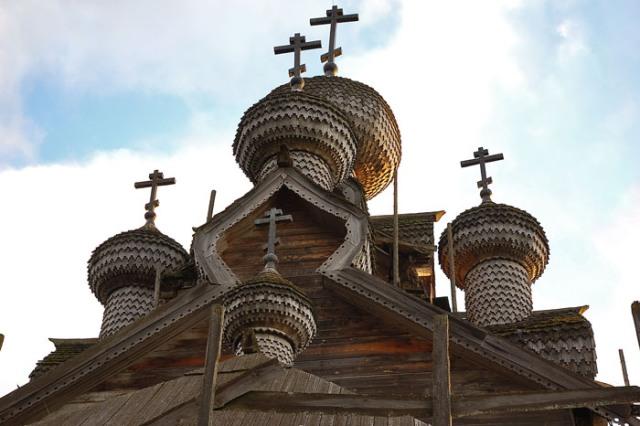 Богоявленская церковь. Такой ее можно было видеть в 2005 г