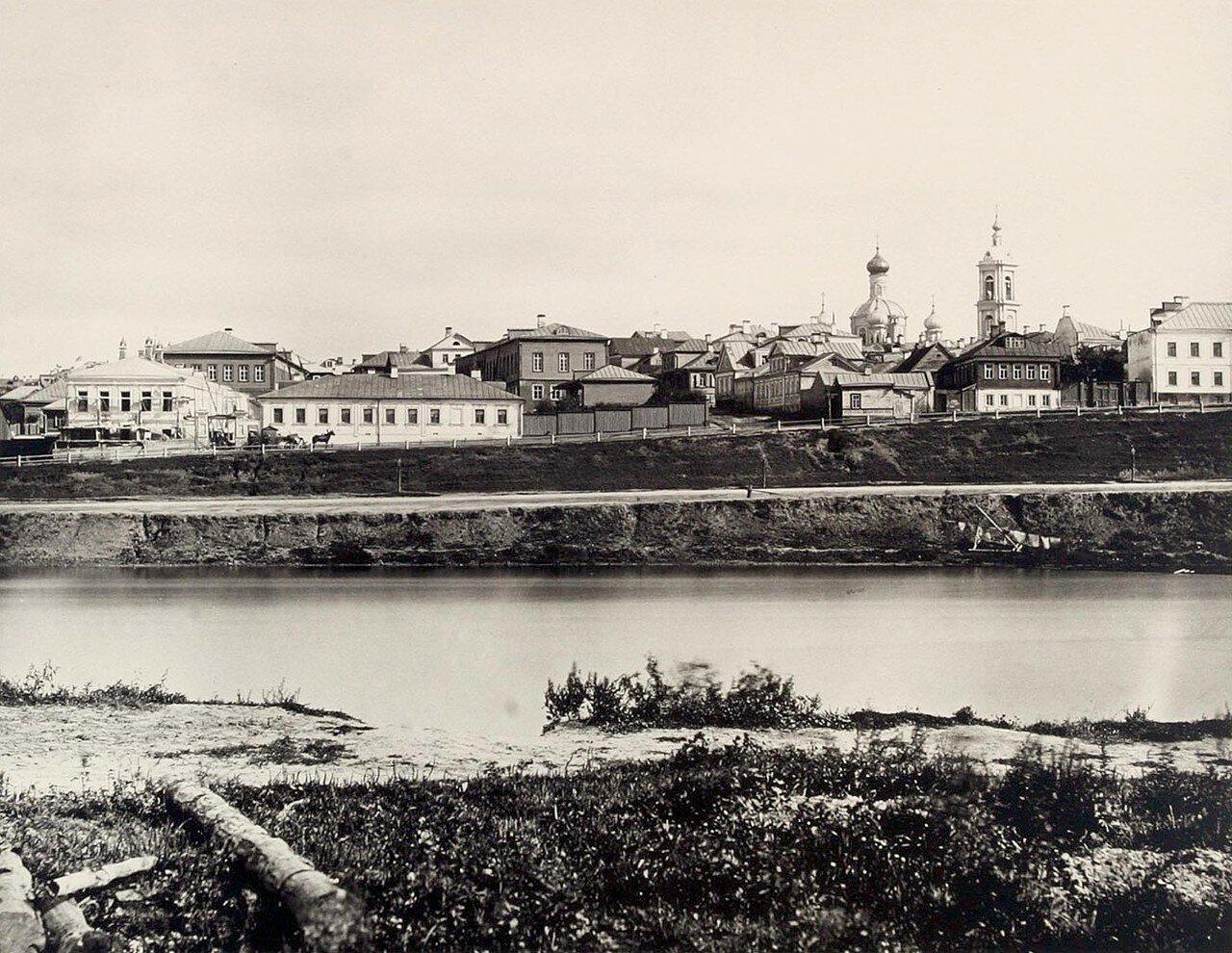 355. 1-й вид из Дорогомилова (выше Бородинского моста)