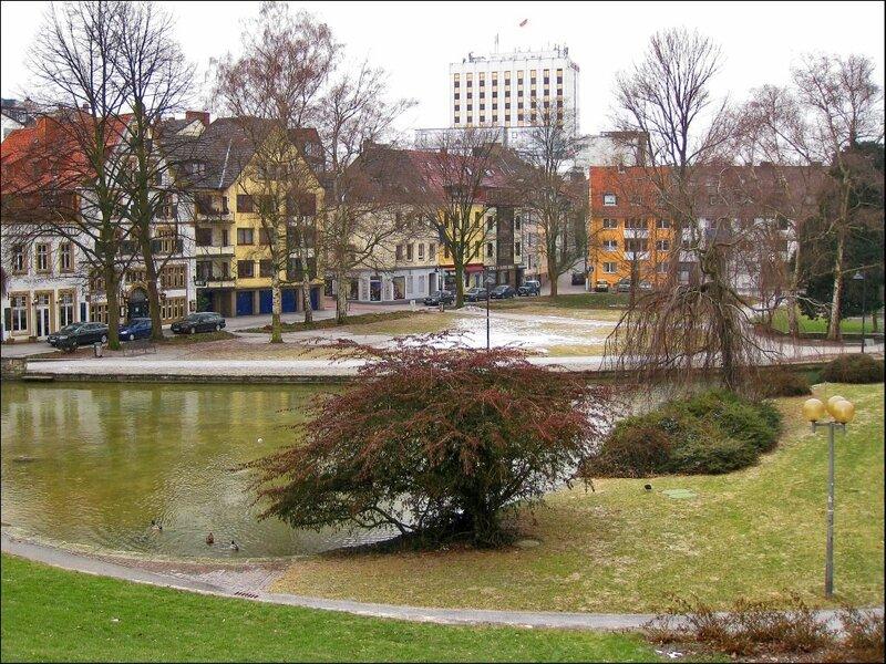 Парк у реки Падер, Падерборн