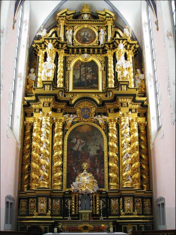 Алтарь церкви иезуитов в Падерборне