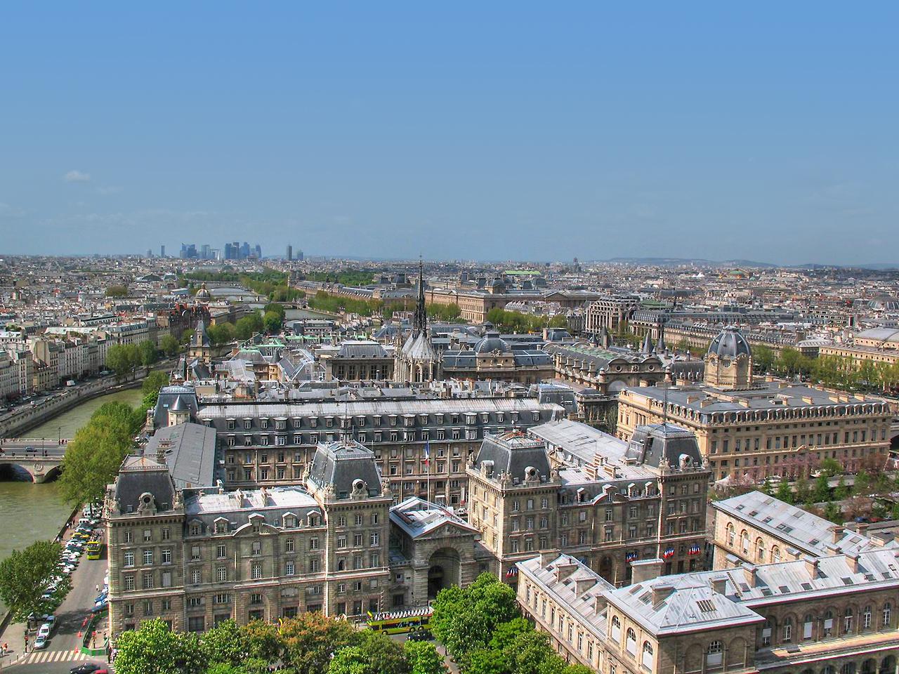 Вид с Notre-Dame