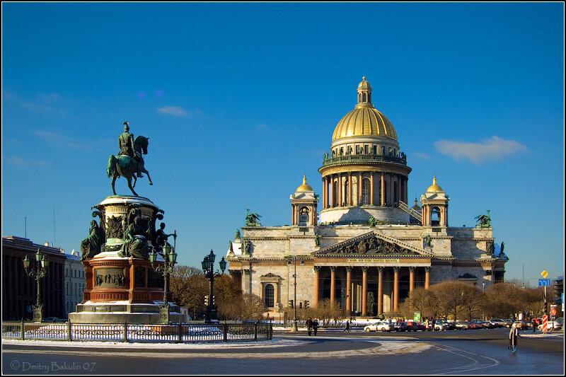Петербург Зима