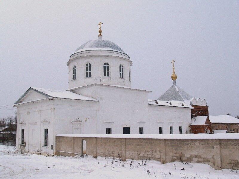 Алексеевская церковь, Николаевский Клобуков монастырь