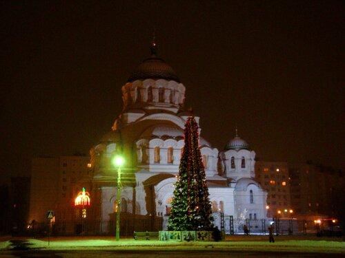Астрахань, Новый Год-2009, Собор Святого Владимира