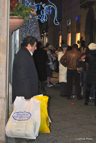 Праздничные Улицы Салерно