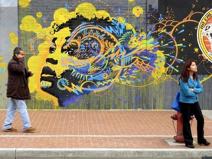 Колумбийский уличный арт