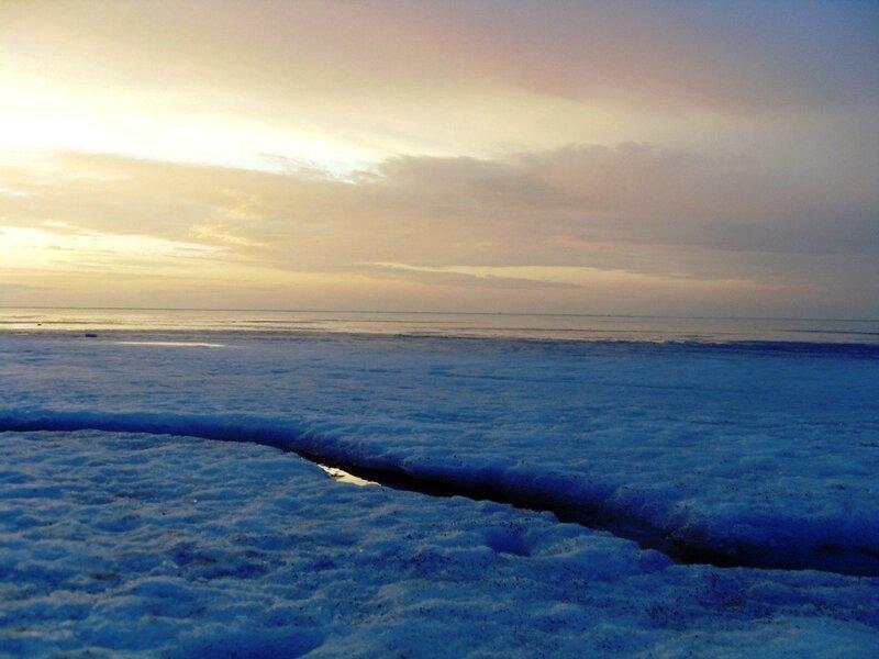 Лёд Ахтарского залива (16)