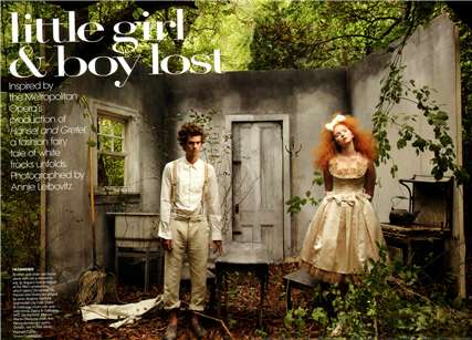 Little Girl & Boy Lost: Lily Cole, Andrew Garfield, Lady Gaga & Sasha Cooke