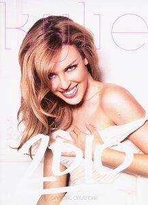 Kylie Minogue calendar 2010