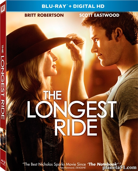 Дальняя дорога / The Longest Ride (2015/BDRip/HDRip)