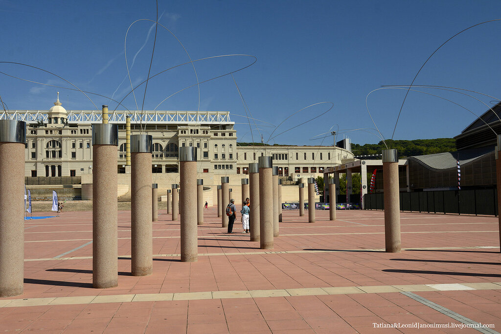 Олимпийский комплекс на горе Монжуик. Барселона