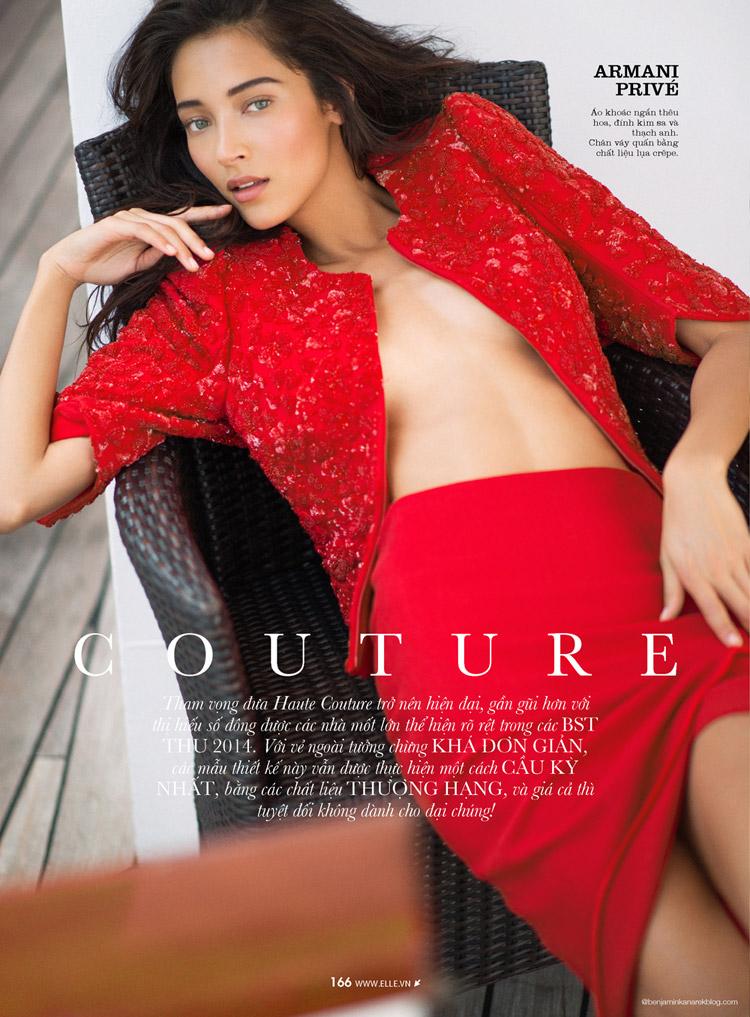 Даниэла Де Иисус Козьо (Daniela De Jesus Cosio) в журнале ELLE Vietnam